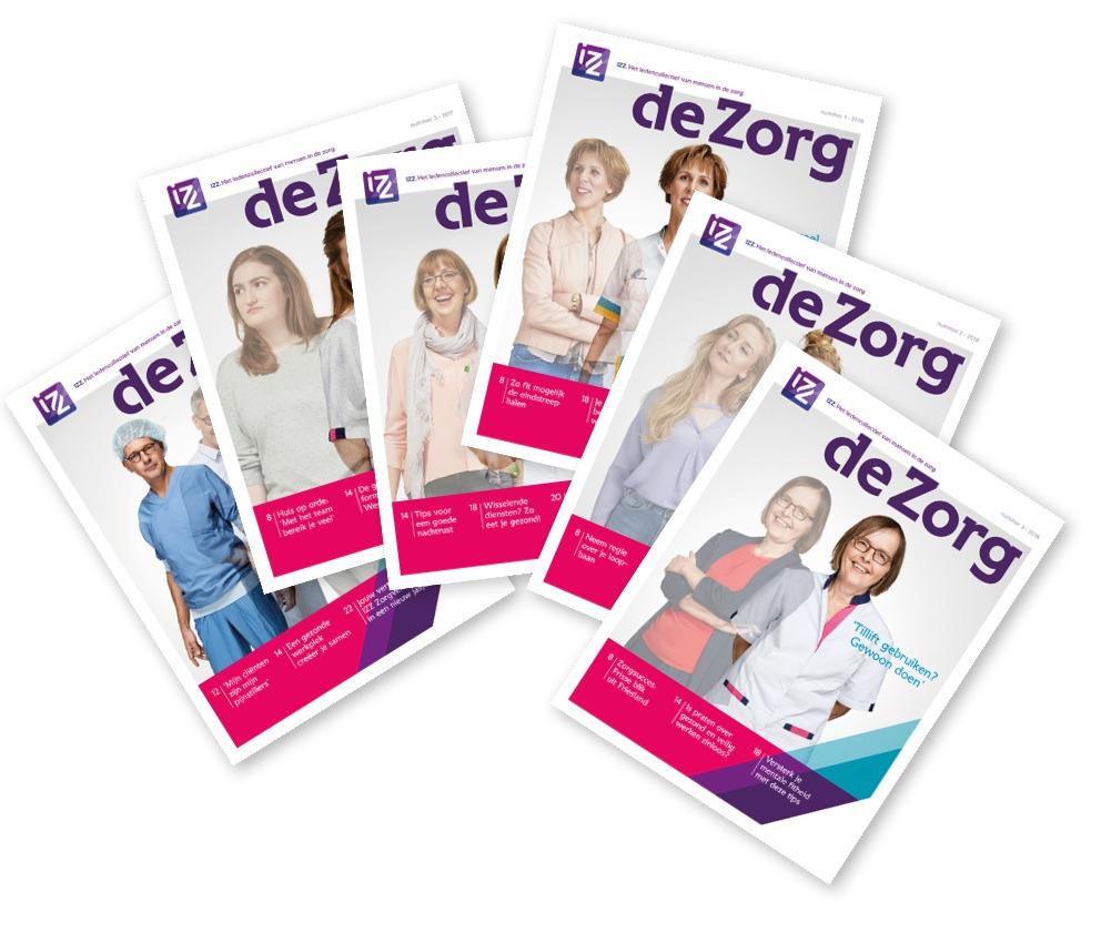 Titelblad van de IZZ - de Zorg