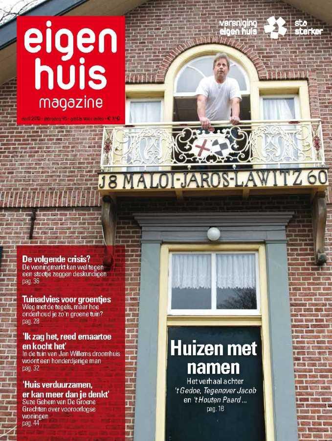 Titelblad van de Eigen Huis magazine
