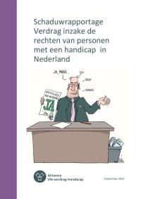 Titelblad van de Ieder(in) - Schaduwrapportage Verdrag rechten van personen met een handicap in Nederland