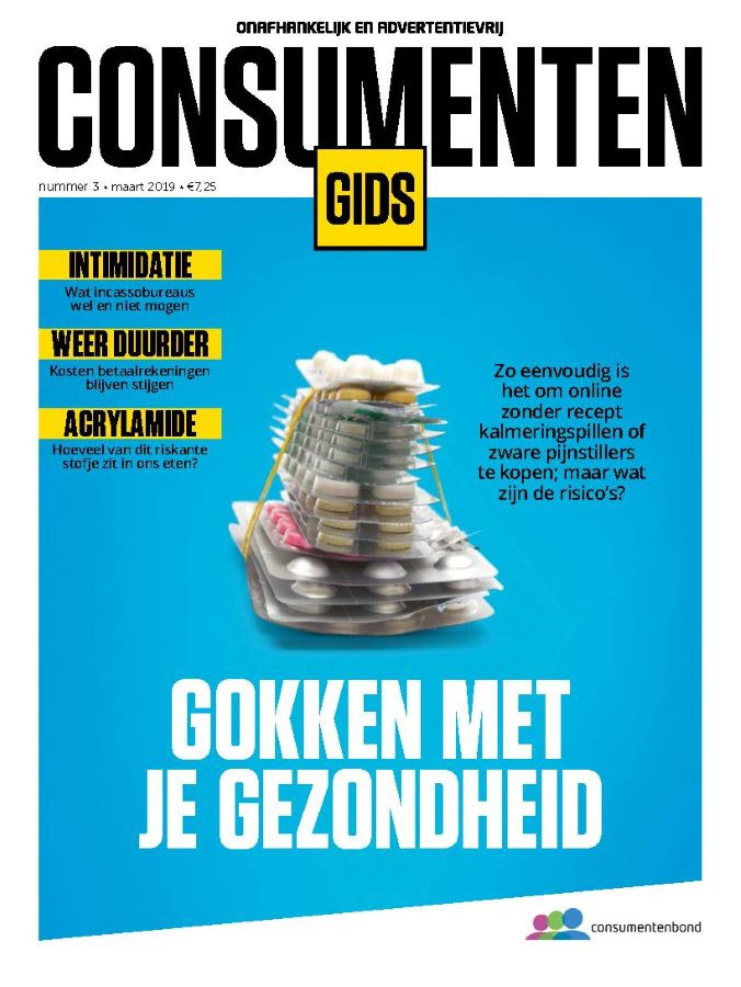 Titelblad van de Consumentengids