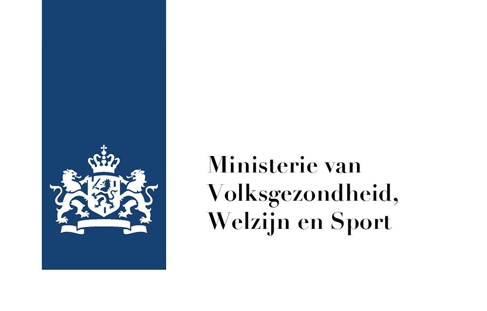 Titelblad van de Ministerie van Volksgezondheid, Welzijn en Sport