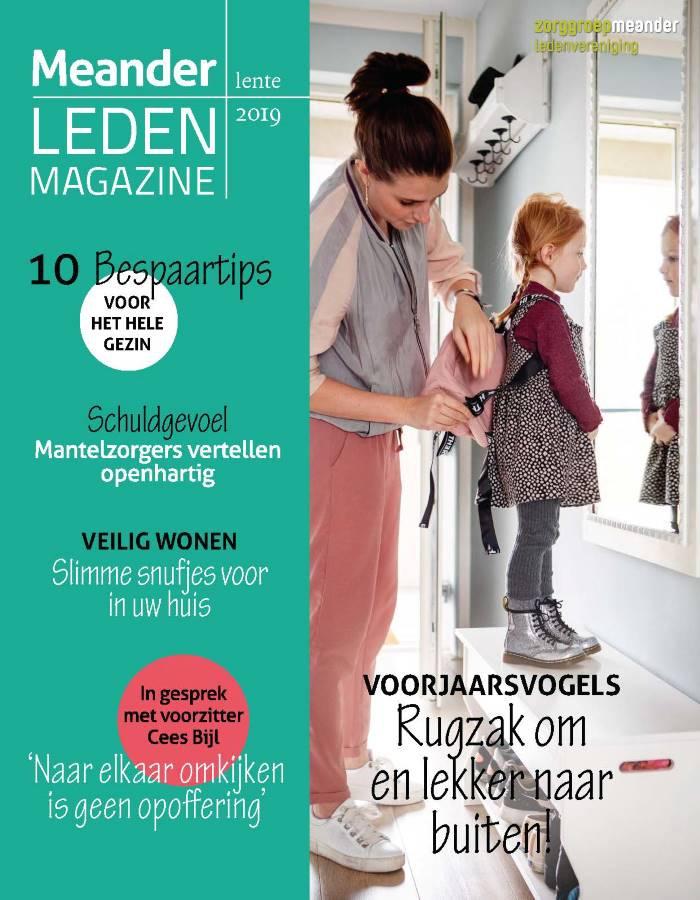 Titelblad van de Ledenblad Evean, Icare en Meander
