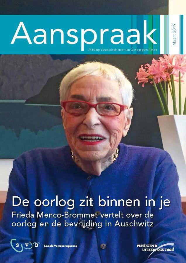Titelblad van de Aanspraak ( Pensioen/Uitkeringsraad)