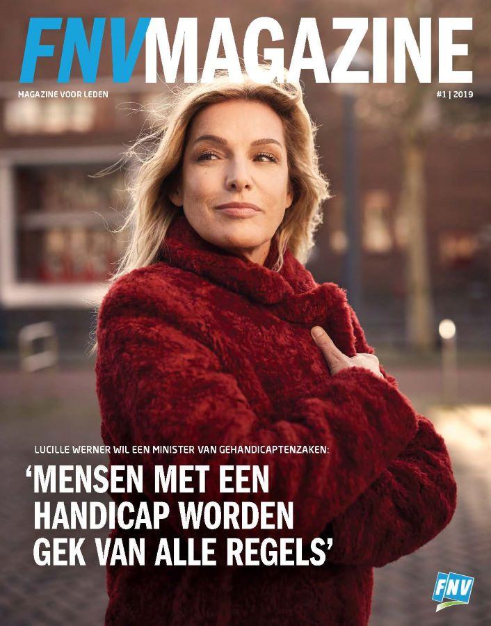 Titelblad van de FNV-Magazine