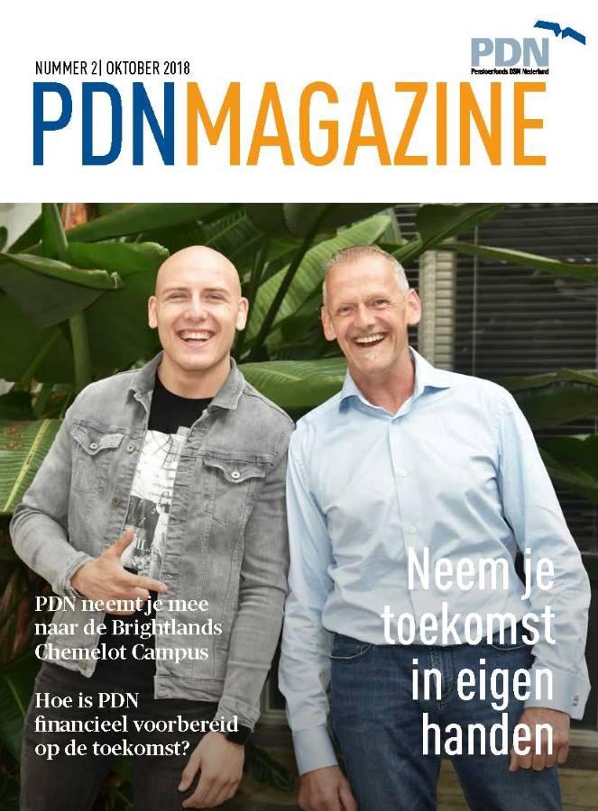 Titelblad van de PDN Magazine